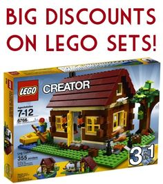 Big Discounts on Lego Sets!  {Lego Creator, Lego Friends, Lego City + more!} #legos