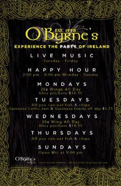 O'Byrne's irish pub!