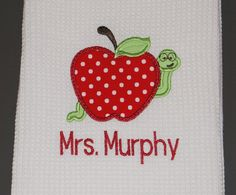Teacher towel.