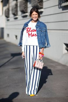 5 Ways To Wear Stripes This Spring. #stripes #fashion #style