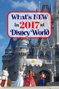 Things that will be new for Walt Disney World in 2017. via Disney Insider Tips