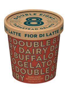 Double 8 buffalo milk gelato by cult partners