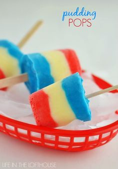 Homemade Pudding Pops | Life in the Lofthouse