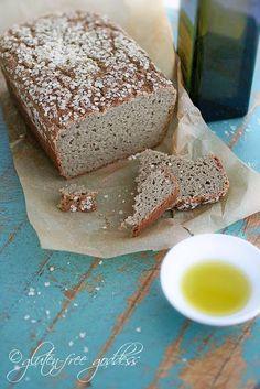 Whole Grain Gluten-Free Bread |Gluten-Free Goddess® Recipes