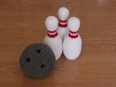 Ravelry: Bowling Set pattern by Brenna  ($5.75)