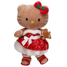 Sweet Sequin Gingerbread Hello Kitty--Too many different ways to dress this HK up for Christmas!!!