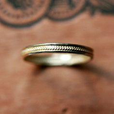 Gold Wedding Band - Etsy