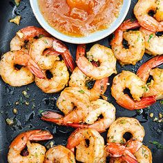 Bite-Sized Appetizers Under 100 Cals: Curried Shrimp Cocktail #recipe