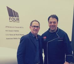Chef Anthony and and our gluten free star Scott Treadaway enjoyed a great meeting SHAPE Magazine. LIVE FROM NEW YORK.