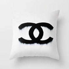 Fashion Melt Throw Pillow