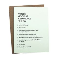 cheeky card :)