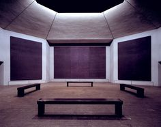 """""""As such, the Chapel blurs the line between architecture, art, and the turmoil that often haunts life, challenging this distinction in both its aesthetic, effect and the ability to transcend the human experience.""""    AD Classics: Rothko Chapel / Philip Johnson, Howard Barnstone, Eugene Aubry and Mark Rothko"""