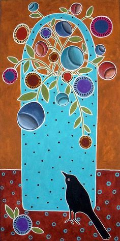 Basket and Bird: Karla Gerard
