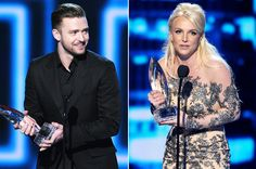 Justin Timberlake, Britney Spears Win Big at People's Choice Awards