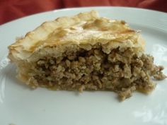 another French Canadian pork pie recipe