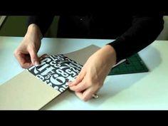 Accordion Fold Binding Mini Album - YouTube