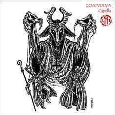 goat demon drawing goa...