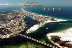 White Sandy Beach. Destin Florida.  I love this beach