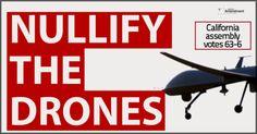 California assembly passes anti-drone bill, 63-6