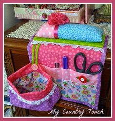My Country Touch THREADCATCHER AND ORGANIZER