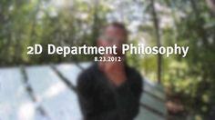 2D Department Philos