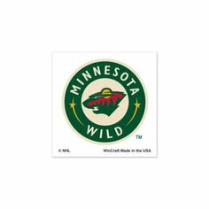 "MINNESOTA WILD OFFICIAL LOGO TATTOOS by NHL. $4.94. Officially licensed by the Minnesota Wild. Top Quality, Manufactured by Wincraft. Officially licensed by the NHL. You get FOUR cool temporary tattoos in this set. Each measures 1"" by 1"". Perfect for the arms, face, or chest. Easy to apply. Takes only about 30 seconds. Easy to remove using rubbing alcohol or baby oil. Vibrant colors and crisp graphics. Official team logos and colors. Officially licensed by the le..."