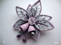 bell, paper quil, christma stuff, christma decor, christma quill, craft quill, christmas ornaments, quill création
