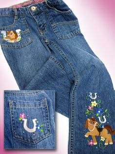 Embroidery Library Projects - Machine Embroidery Designs how to on jeans