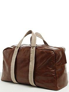 overnight duffel, hermes bags, big bag, designer handbags, c7 overnight, haerfest collect, leather bags, duffel chestnut