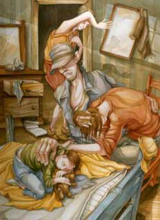 Painting by ROBERT BARNUM
