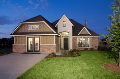 900 Cobble Gate Drive in Brenham, Texas. Stylecraft Builders Model Home.