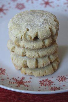 Brown Butter Hazelnut Sugar Cookies