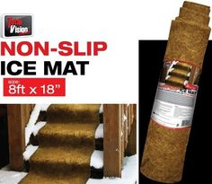 "Total Vision Products Non Slip Ice Mat (8' x 18"") by Total Vision Products, http://www.amazon.com/dp/B00A9XBDIQ/ref=cm_sw_r_pi_dp_.gRssb0W6KXWK"