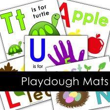 playdough mat blog