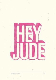 223. Hey Jude by S719, via Flickr
