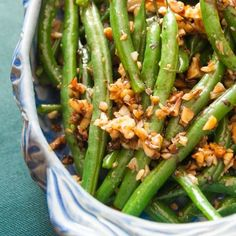 Green Beans with Walnuts and Balsamic