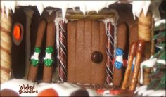 Gingerbread Ski House by Wicked Goodies