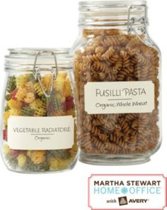 Staples®. has the Martha Stewart Home Office™ with Avery™ Textured Labels, Eggshell, Classic, 1-5/8'' x 3-3/4'', 18/Pack you need for home office or business. FREE Shipping on all orders over $45, plus Rewards Members get 5 percent back on everyt
