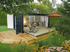 See how these creatively recycled containers are turned into surprisingly attractive dwellings.