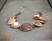 Vintage Button Necklace $20