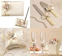 Lillian Rose Blush Ivory Wedding Accessories Collection