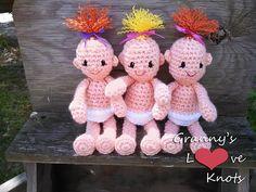 Ravelry: Pearl Babies Amigurumi Dolls pattern by Pam Stinnett