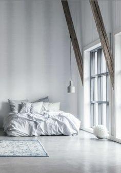 white simple bedroom, dream apartment, white bedrooms