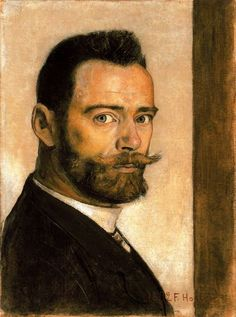 Ferdinand Hodler: Self-Portrait, 1892.