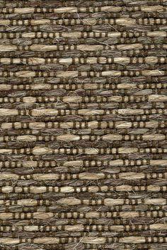 Serengeti sisal & linen rug in Ibis colorway, by Merida.
