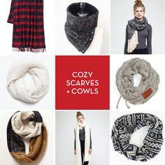 Spotted! The ultra cozy Fireside Scarf in Design Crush's winter roundup. www.designcrushblog.com scarv