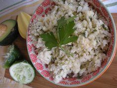 "Chipotle Lime and Cilantro Cauliflower ""Rice"" (paleo & vegan) #Domestic360Life cauliflow rice, side, cilantro cauliflow, chipotle, paleo, chipotl lime, limes, lime cauliflow, healthi appet"