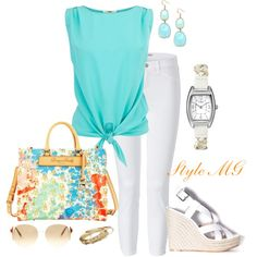 """Color!"" by romigr99 on Polyvore"