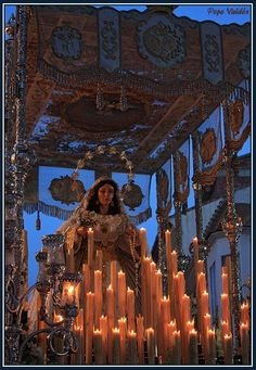 Virgen del Rocio. Vélez. Foto: Pepe Valdes