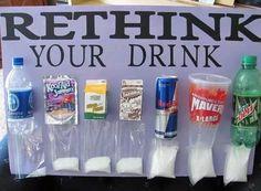 So ...this makes diabetes real.